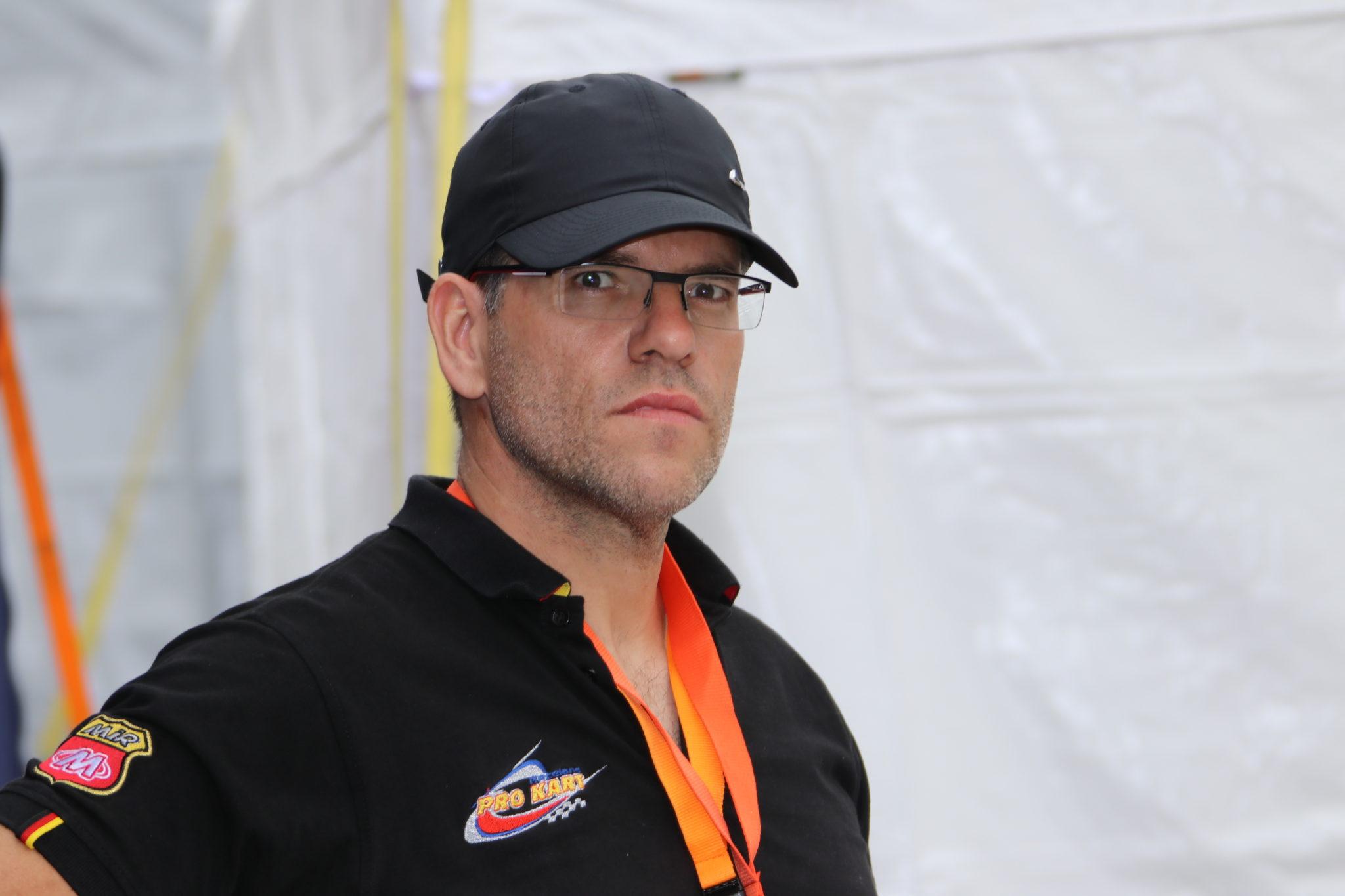 Abteilungsleiter Kart - Mike Hirsch -